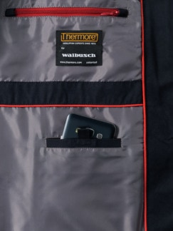 Thermore Outdoor-Weste Marine Detail 4