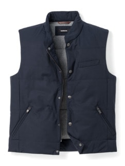 Outdoor-Weste Gentleman Marine Detail 1