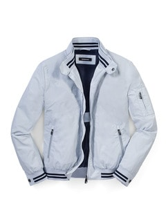 Travel Blouson Marine Detail 1