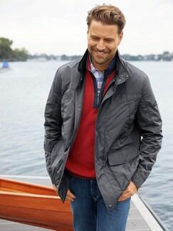 9-Taschen Jacke Anthrazit Detail 3