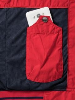 Clubblouson Rot Detail 4