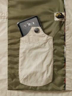 Multipocket-Jacke Beige Detail 3