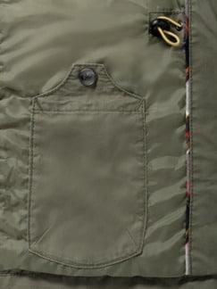 Multipocket Jacke Khaki Detail 3
