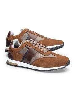 Travel-Sneaker Braun Detail 1