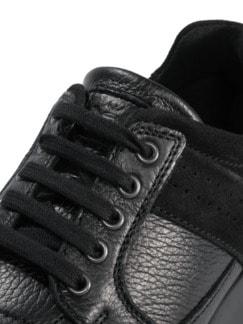 Hirschleder Sneaker Schwarz Detail 4