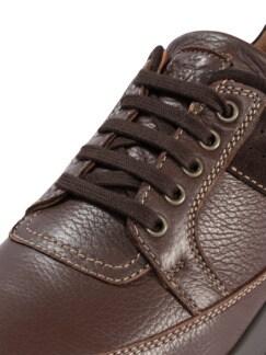 Hirschleder Sneaker Braun Detail 4