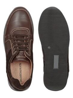 Hirschleder Sneaker Braun Detail 2