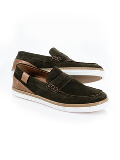 Sport Loafer Oliv Detail 1