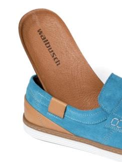 Sport Loafer Ozeanblau Detail 3