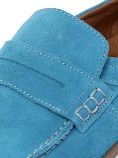 Sport Loafer Ozeanblau Detail 4