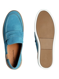 Sport Loafer Ozeanblau Detail 2