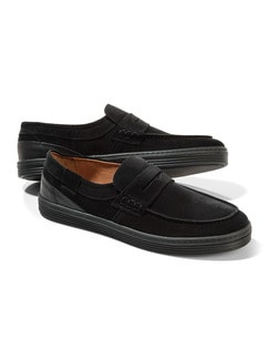 Sport-Loafer Schwarz Detail 1