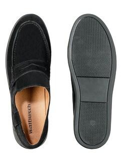 Sport-Loafer Schwarz Detail 2