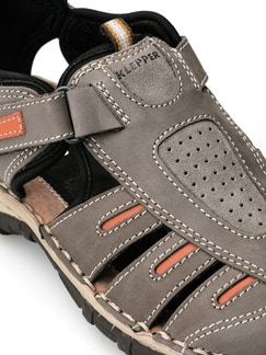 Klepper Trekking-Sandalenschuh Taupe/Orange Detail 3