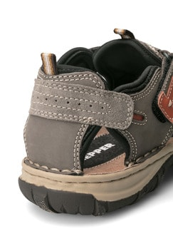 Klepper Trekking-Sandalenschuh Taupe/Orange Detail 4