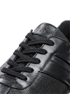 Komfort-Sneaker Schwarz Detail 4