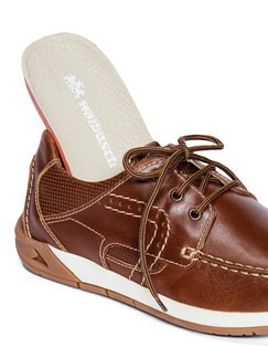Active Air Bootsschuh Cognac Detail 3