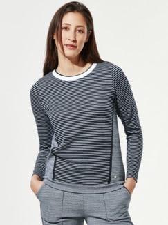 Sweatshirt Mustermix Marine Detail 1