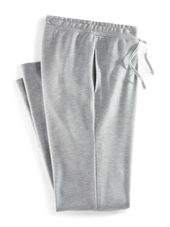 Freizeithose Komfort-Stretch Grau Detail 2