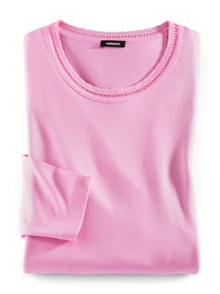 Shirt Hohlsaumstickerei