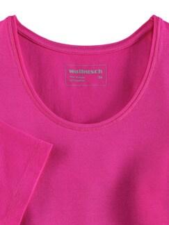 Viskose-Shirt Fuchsiapink Detail 3