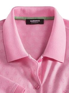 Extraglatt Polo Jacquard Pique Pink Detail 3