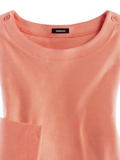 Shirt Soft-Ripp Melone Detail 3