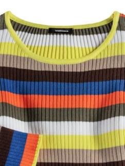 Pima Cotton Sommerpullover Beige/Khaki Detail 3