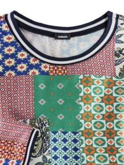 Blouson-Shirt Lissabon Grasgrün Multicolor Detail 3