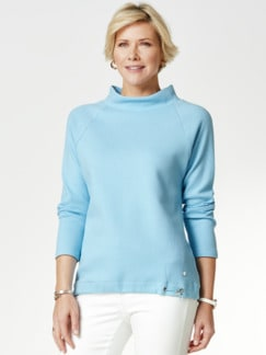 Relax-Sweatshirt Skyblue Detail 1