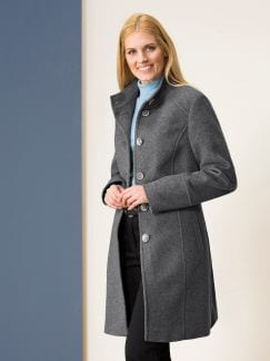 Wollmantel Cashmere Mix
