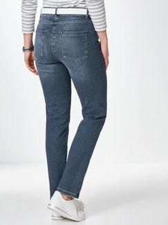 Husky-Jeans Blue Stoned Detail 4
