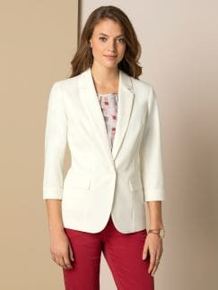 Sommerblazer Wash & Wear Offwhite Detail 1