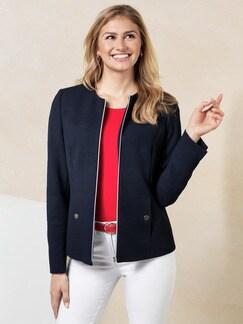 Jacquard-Jersey-Blazer