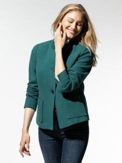 Ottoman-Jersey-Blazer Smaradgrün Detail 1