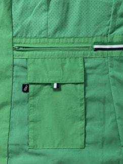 Leichtweste Handgepäck Grasgrün Detail 3