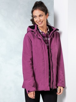 Klepper Leichtjacke Thinsulate Beere Detail 1