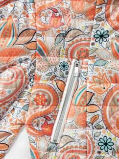 Wendesteppjacke melone Detail 4