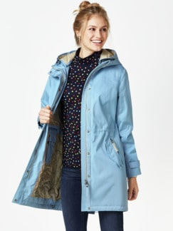 Aquastop Longparka Hamptons Skyblue Detail 1