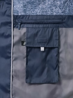Steppjacke Thermore Marine Detail 3