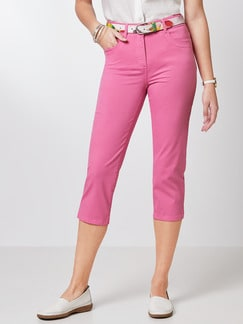 Baumwoll-Capri Supersoft Pink Detail 1