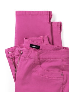 Baumwoll-Capri Supersoft Fuchsia Detail 4
