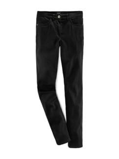 Extraglatt-Hose Mariposa Slim Fit Schwarz Detail 2