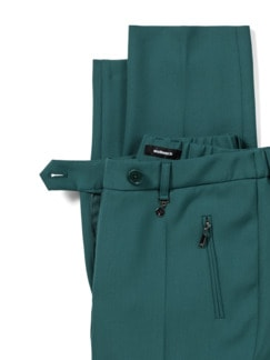 Kofferhose Zauberbund Smaragdgrün Detail 4