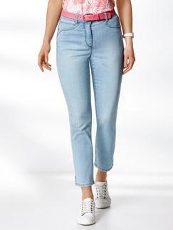 7/8 Coolmax Jeans Blue Bleached Detail 1