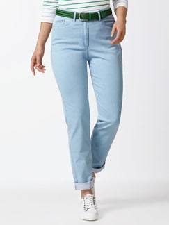 Raphaela by Brax Magic Waist Jeans Midblue Detail 1