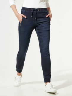 Wellness Jeans Dark Used Detail 1