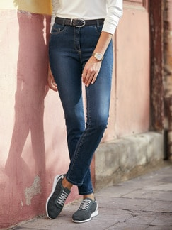 Skinny Jeans Blue Stoned Detail 2