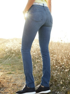 Push-up-Jeans Mid Blue Detail 2