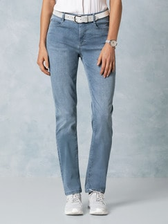Ultraleicht-Jeans Light Blue Detail 1